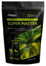 Комплексное минеральное удобрение для пальм и юкк Super Master (Супер Мастер), 250г, NPK 17.6.18, Valagro (Валагро) фото