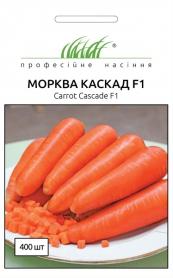 Семена моркови Каскад F1, 400шт, Bejo, Голландия, Професійне насіння фото