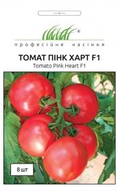 Семена томата розового Пинк Харт F1, 8шт, Nong Woo Bio, Корея, Професійне насіння фото