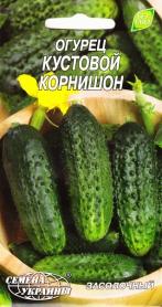 Семена огурца Кустовой корнишон, 1г, Семена Украины фото