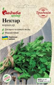 Семена кориандра Нектар, 3г, Украина, семена Садиба Центр Традиція фото