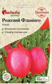Семена томата Розовый Фламинго, 0.1г, Украина, семена Садиба Центр Традиція фото