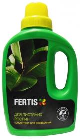 Комплексное минеральное удобрение для лиственных растений Fertis (Фертис), 500мл, NPK 5.3.7 фото