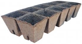 Кассета торфяная 10 ячеек, 6х6см, уп. 10шт, TM ROSLA (Росла) фото