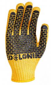 Перчатки трикотажные c ПВХ, Doloni, 4078 фото