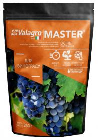 Комплексное минеральное удобрение для винограда Master (Мастер), 250г, NPK 3.11.38, Осень, (Valagro) (Валагро) фото