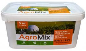 Комплексное минеральное удобрение для газонов (Agromix) Агромикс, 5кг, NPK 6.14.27, Лето-Осень фото