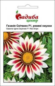 Семена газании Рассвет смесь, розовые полоски, 10шт, Pan American, США, Садиба Центр фото