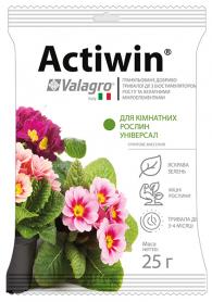 Комплексное минеральное универсальное удобрение для комнатных растений Actiwin (Активин), 25г, NPK 9.16.14, Valagro (Валагро) фото