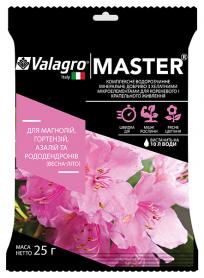 Комплексное минеральное удобрение для магнолий, гортензий, азалий и рододендронов Master (Мастер), 25г, NPK 13.40.13, Весна-Лето, Valagro (Валагро) фото