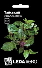 Семена базилика зеленого Тайский, 0.3г, Hem, Голландия, семена Леда Агро фото