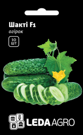 Семена огурца Шакти F1, 10шт, Rijk Zwaan, Голландия, семена Леда Агро фото