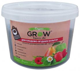 Органическое удобрение для плодово-ягодных культур ТМ Grow (Multimix bio), 2.5кг, Весна-Лето фото