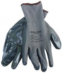 Перчатки с нитриловым обливом ладони, Doloni, 4576 фото