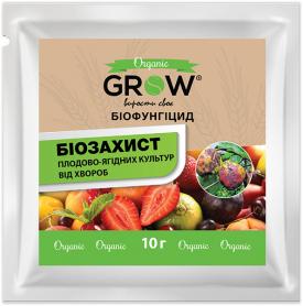 Биофунгицид для защиты плодово-ягодных культур, 10г, ТМ Grow фото
