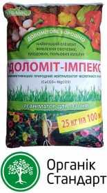 Нейтрализатор кислотности почвы Доломит-импекс (СаО+MgО), 0.10мм, 25кг фото