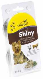 Влажный корм для собак Gimpet Shiny Dog с курицей и говядиной, 2х85г фото