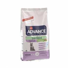Сухой корм для стерилизованых котов выведение шерсти  Advance Cat Sterilized Hairball Turkey & Barley, 1.5кг фото