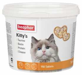 Витамины для взрослых кошек Beaphar Kitty's Mix, 750 табл. (525г) фото