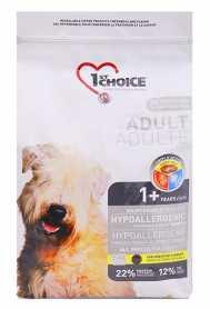 Сухой корм для взрослых собак всех пород 1st Choice Hypoallergenic со вкусом утки и картошки, гипоаллергенный, 6кг фото