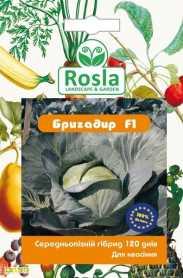 Семена капусты Бригадир F1, 20шт, Clause, Франция, Семена TM ROSLA (Росла), до 2019 фото