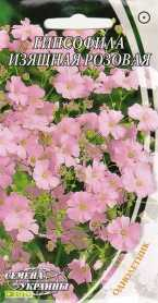 Семена гипсофилы Изящная розовая, 0.2г, Семена Украины, до 2019 фото