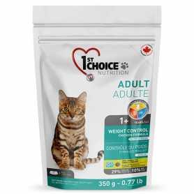 Сухой корм для взрослых котов 1st Choice Adult Weight Control со вкусом курицы, 350г фото