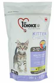 Сухой корм для котят st Choice Kitten Chaton Healthy Start со вкусом курицы, 350г фото