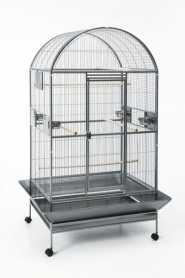 Вольер для попугаев Karumba Bow Savic, темно-серый, 100х80х187см фото