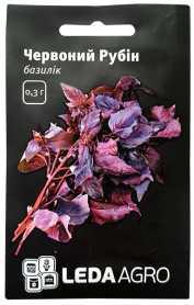 Семена базилика красного Ред Рубин, 0.3г, Hem, Голландия, семена Леда Агро фото