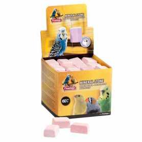 Минеральный камень для птиц Pickstone Karlie Flamingo, розовый, 4х3х2см фото