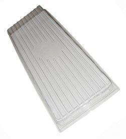 Крышка пластиковая (эффект теплички), ВЛ, 440х205х45 фото