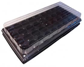 Парничок для рассады ВЛ, 36 яч, касс. 440х205х80 мм, яч. 43х43х40 мм, т.с. 0,9 мм, пластиковый фото