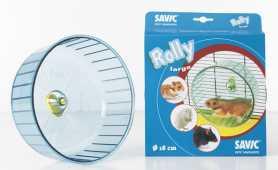 Колесо для хомяков Rolly Savic, пластиковое, 18х9см фото