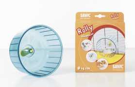 Колесо для хомяков Rolly Savic, пластиковое, 14х9,5см фото