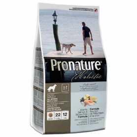 Сухой корм для собак всех пород Pronature Holistic Adult Atlantic Salmon&Brown Rice, с атлантическим лососем и коричневым рисом, 340г фото