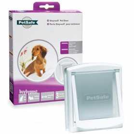 Дверцы для котов и собак маленьких пород, до 7 кг белый 0.342кг 236Х198мм PetSafe Staywell Original фото