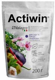 Комплексное минеральное удобрение Actiwin для сада и огорода 200г, NPK 12.5.20, Весна-Лето, (Valagro) (Валагро) фото
