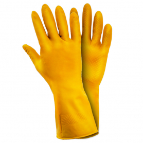 Перчатки ТМ Sigma латекс L 1/12, 9447321-2785 фото