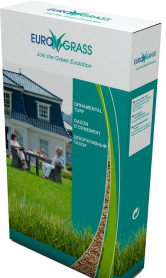 Газонная трава декоративная Euro Grass, 1кг, Deutsche Saatveredelung (Германия) фото