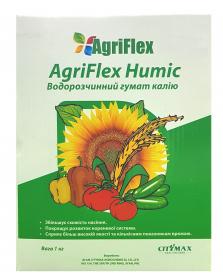 Органический гумат калия концентрат AgriFlex Humic, 1кг, Citymax фото