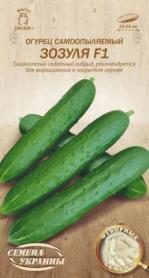 Семена огурца Зозуля F1, 0.25г, Семена Украины, 596300 фото