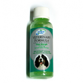 024012 Veterinary Formula ТРОЙНАЯ СИЛА (Triple Strength Dog) шампунь для собак и котов, 45 мл фото
