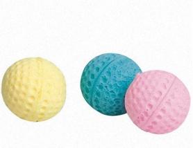 504384 Karlie-Flamingo BALL SPUNGY спонж мяч поролоновый игрушка для кошек 4 см (60 / уп) фото