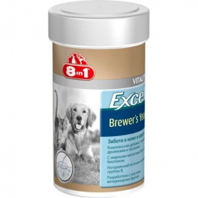 660432 Excel Brewers Yeast  д/соб. и котов  260таб/185ml   8in1 фото