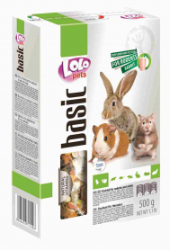 LO-71149'Lolopets' коктель для грызунов и кролика 500гр фото