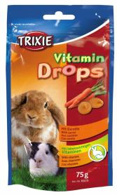 Витамины д/грызунов Дропс каротин 75 г фото