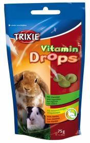 Витамины д/грызунов Дропс овощи 75 г фото