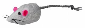 Мышь меховая звенящая, 4 см,1 шт  фото