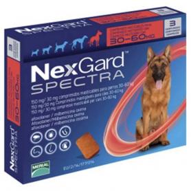 Нексгард Спектра 30-60 (XL) таблетка от блох и клещей  фото